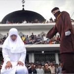 Caning for gambling in Indonesia