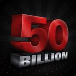 PokerStars 5 billionth hand