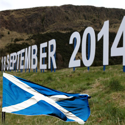 Punter bets on Scottish Voters Saying No