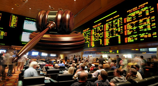 Gambling operators in New Jersey await a court decision on betting on sports scores