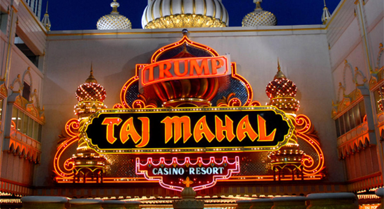 Trump Taj Mahal casino's managers were denied court approval to end pension payments