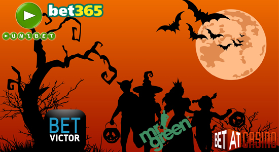 Top five Halloween promotions from the best online casinos