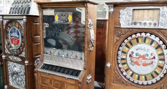 Harrah's vintage slots machines auction