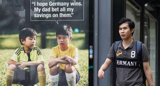 Singapore Gambling Ban