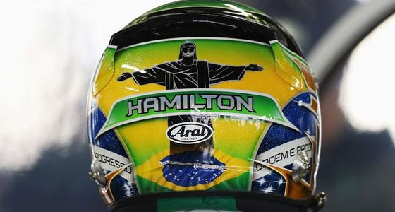 Lewis Hamilton  Brazil Grand Prix