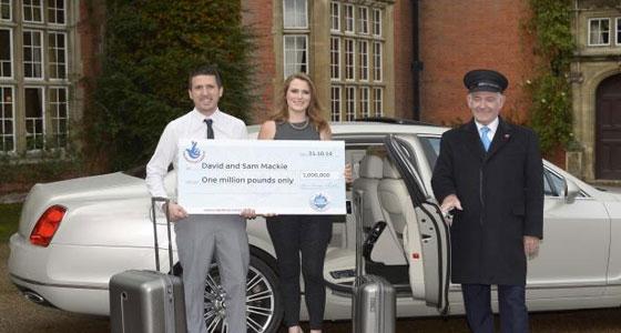 Lottery Winners 1 million Pounds