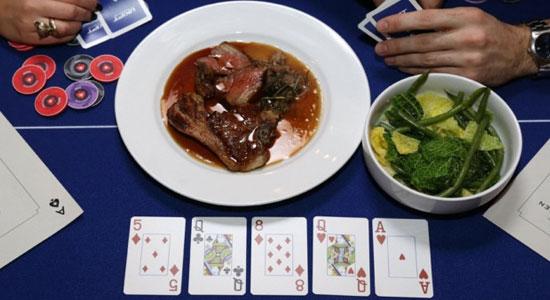 Pay-By-Poker Kitchen