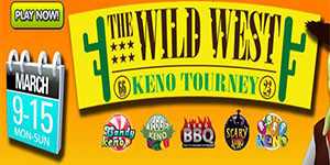 Wild WIld West keno