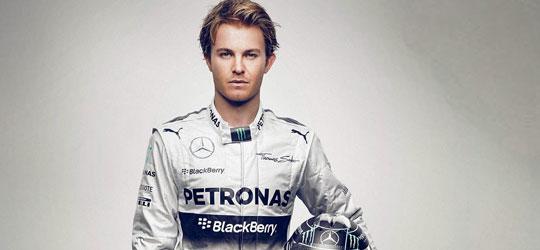 Rosberg Formula 1 pilot