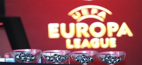 The UEFA Champions League and Europa League draws were held on Monday in Nyon