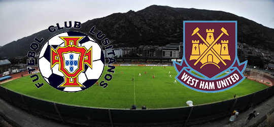 FC Lusitans is to host West Ham United at Camp d'Esports d'Aixoval