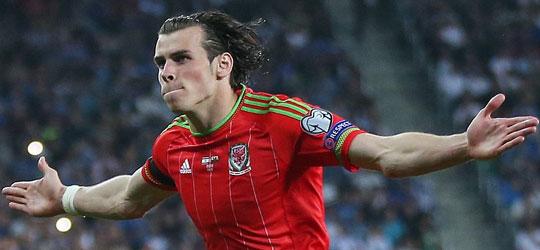 Gareth Bale Wales captain