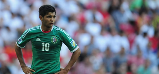 Mexican fans expect a lot from El Tecatito (Photo: CNN)