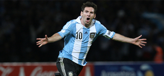 Messi is the brain of Argentina (Photo: PanAmerican World)