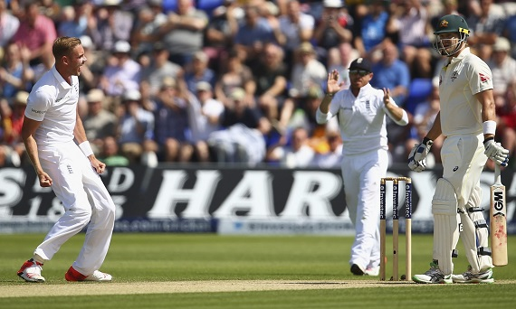 Ashest 2015 Test Stuart Broad England