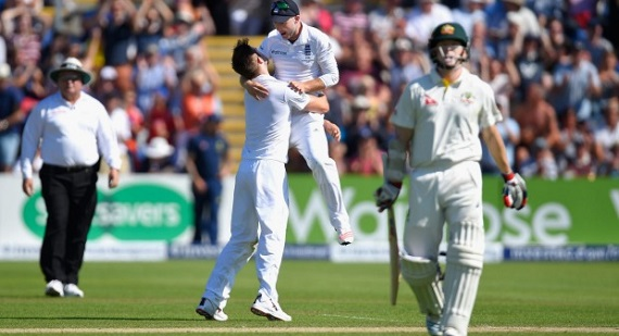 Ashes 2015 test Australia England