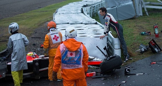 Jules Bianchi's death accident