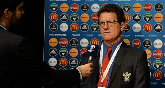 Russia Sacked Capello interview