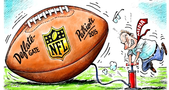 Media all over Deflategate scandal