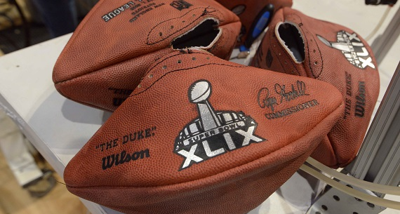 Deflategate scandal Super Bowl XLIX balls