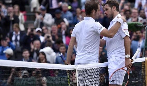 Wimbledon Gastquet Wawrinka