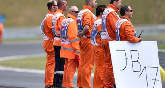2015 Hungarian GP results marshals