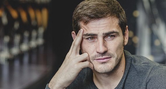 Iker Casillas Porto leap of faith
