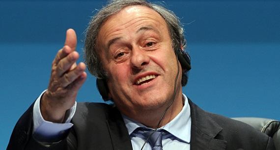 Michel Platini FIFA president ambitions