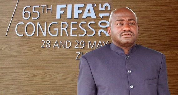 Musa Bility wont have Platini FIFA President
