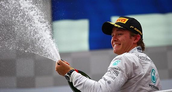 Hungarian GP Nico Rosberg