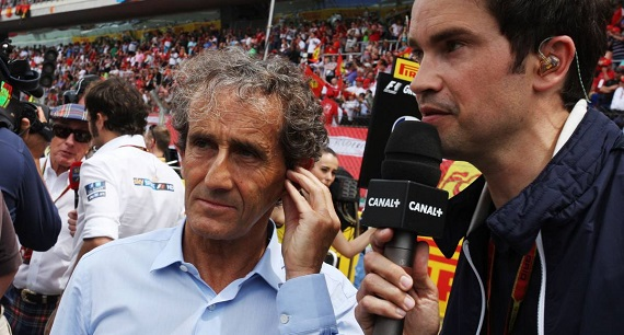 Alain Prost on Bianchi's death
