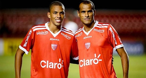 Rivaldo and Son Rivaldinho