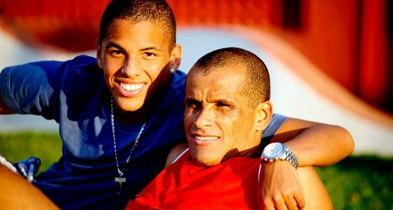 Rivaldo and son