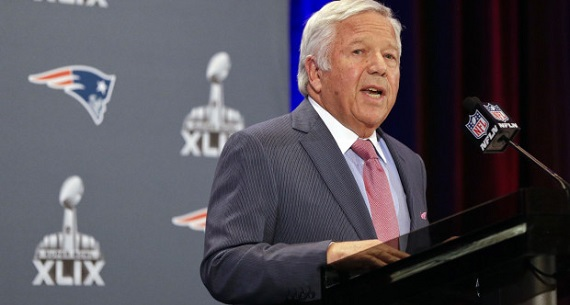 Robert Kraft statement on Deflategate scandal