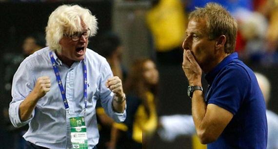 CONCACAF Gold Cup semifinal Jamaica USA