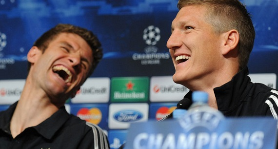 Man United want Muller with Schweinsteiger