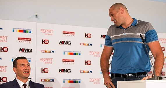 Tyson Fury v Klitschko press conference