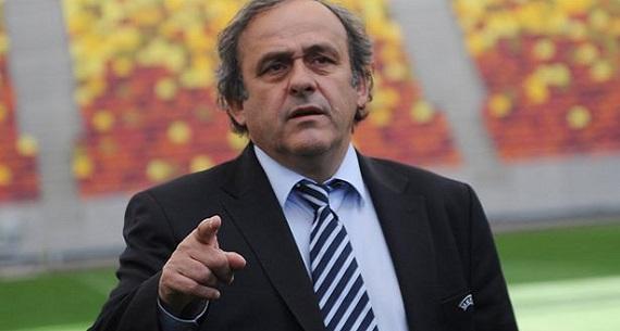 Michel Platini FIFA president