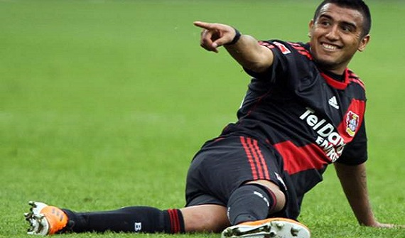 Leverkusen Chilean player Vidal