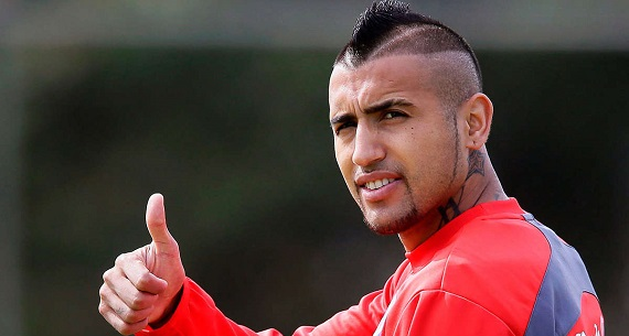 Chilean player Vidal