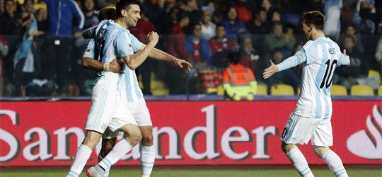 argentina paraguay copa america 2015