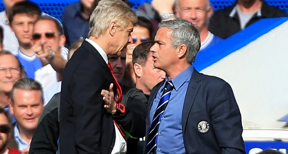 Arsena Wenger Jose Mourinho meet in Community Shield 2015
