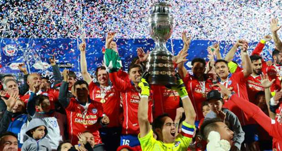 Chile Wins First Title as Argentina Becoming Football's Losers