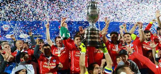 copa america champions 2015