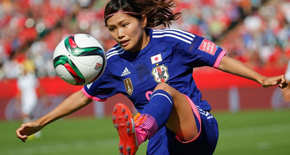 japan women football player