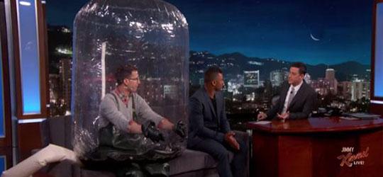 Russel Wilson Jimmy Kimmel Live show