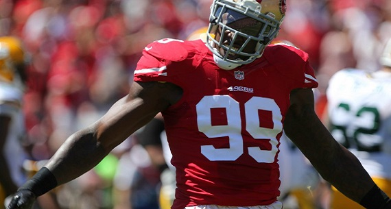 Aldon Smith released from San Francisco 49ers