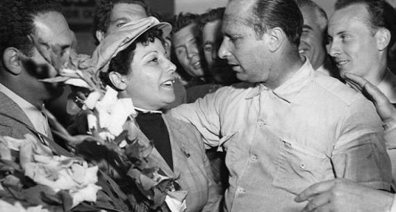 Fangio exhumed for paternity test of Beba Beruet's son