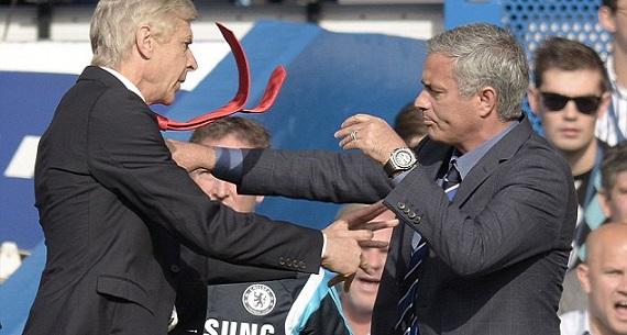 Wenger vs Mourinho conflict