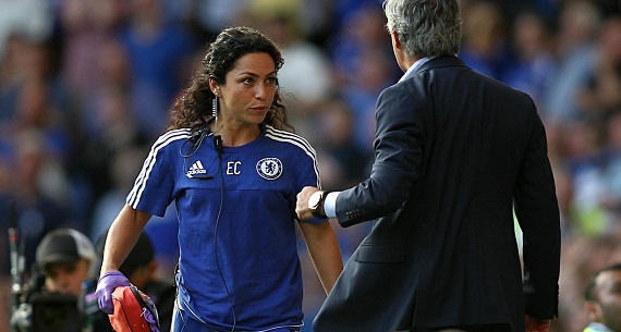 Chelsea doctor harangued by Mourinho